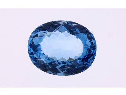 Přírodní Topaz Swiss Blue 26,23 ct