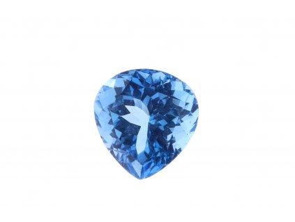 Přírodní Topaz Swiss Blue 8,21 ct