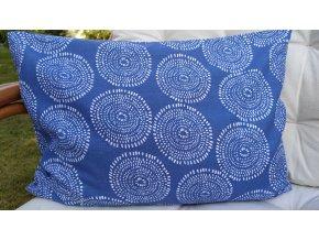 Pohankový polštářek nahřívací modrý
