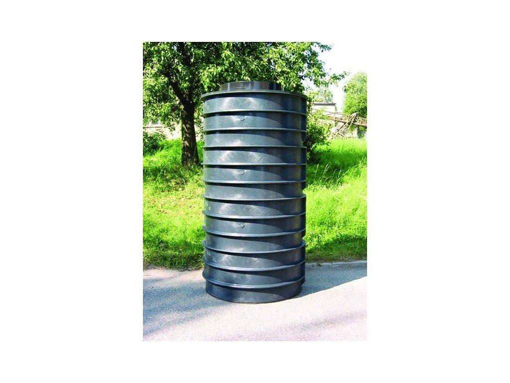 skružová jímka tlakové kanalizace