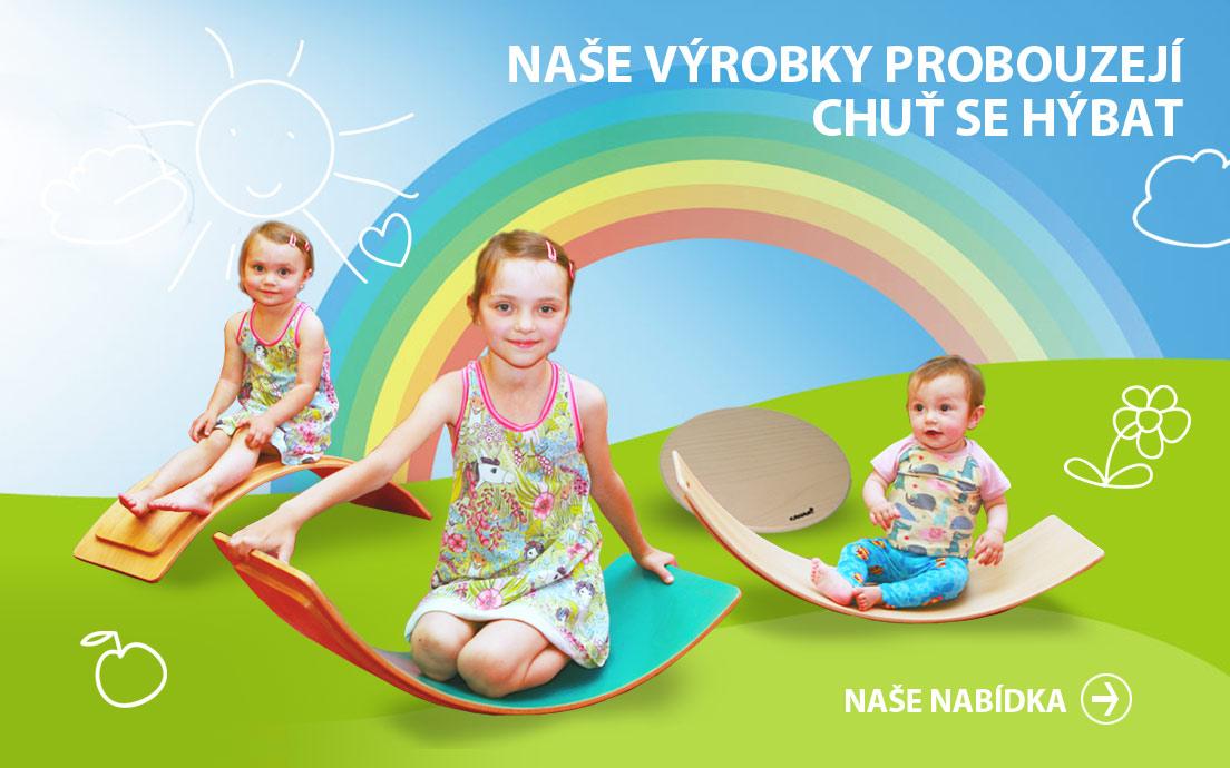 Houpací prkno pro děti