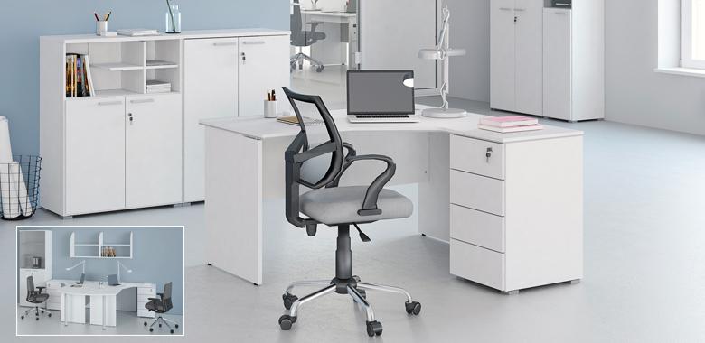 Kancelářský nábytek Office White