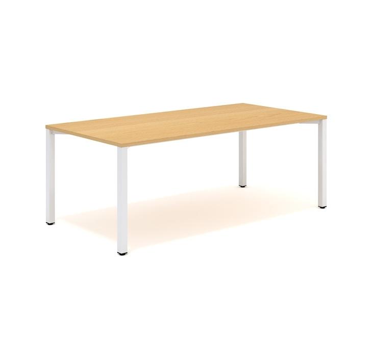 Konferenční stoly s kovovou rohovou podnoží