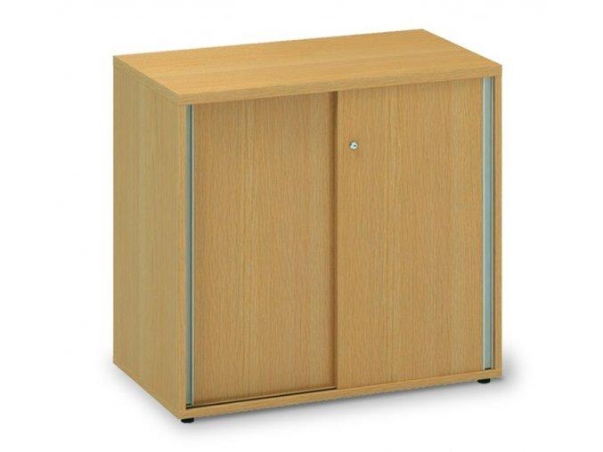 Skříń s posuvnými dveřmi Pro Office 80x45x73,5 cm