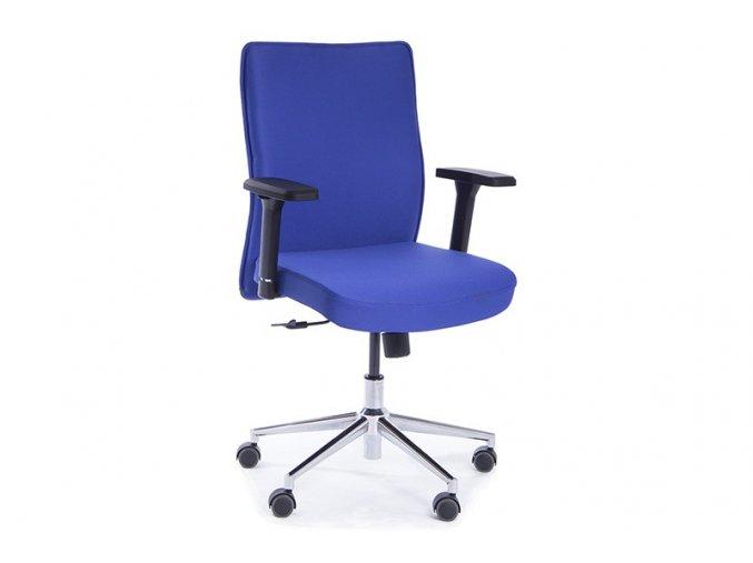kancelarska zidle Pierre modra