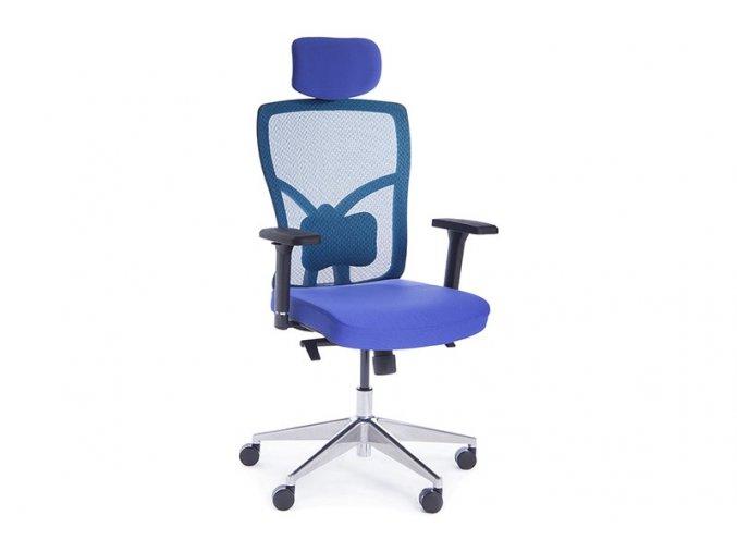 kancelarska zidle Superio modra