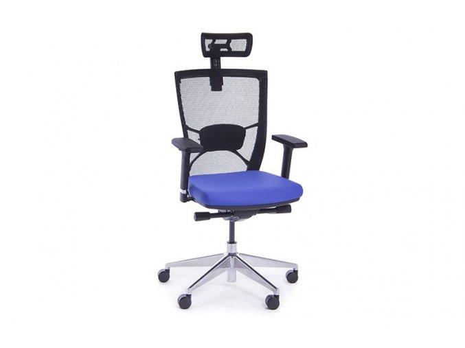 kancelarska zidle Marion modra