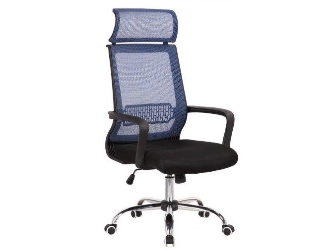 kancelarska zidle Lump modra 2
