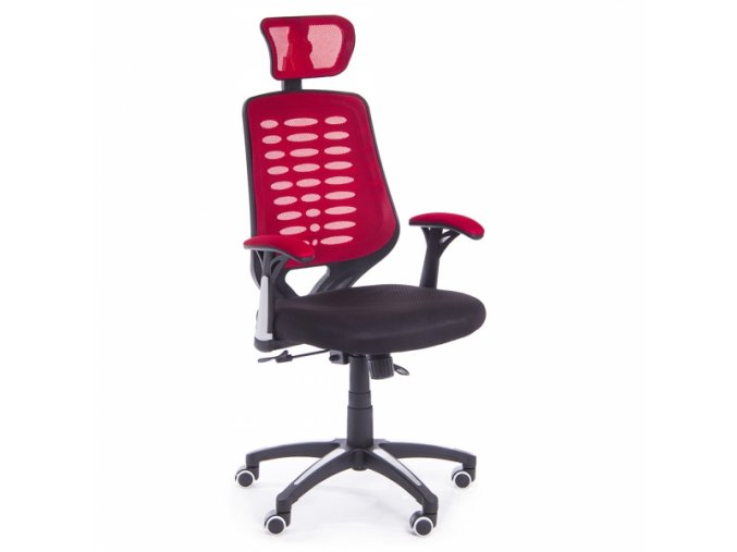 kancelarska zidle Stuart cervena