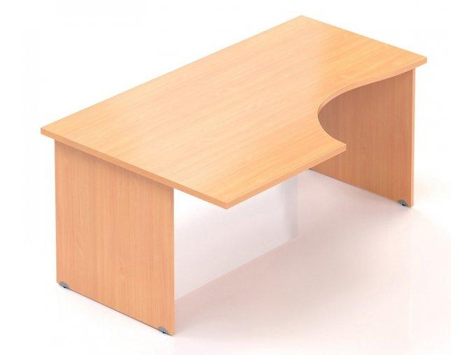 Kancelářský stůl Visio 160x70/100 cm levý  + Prodloužená záruka 5 let ZDARMA
