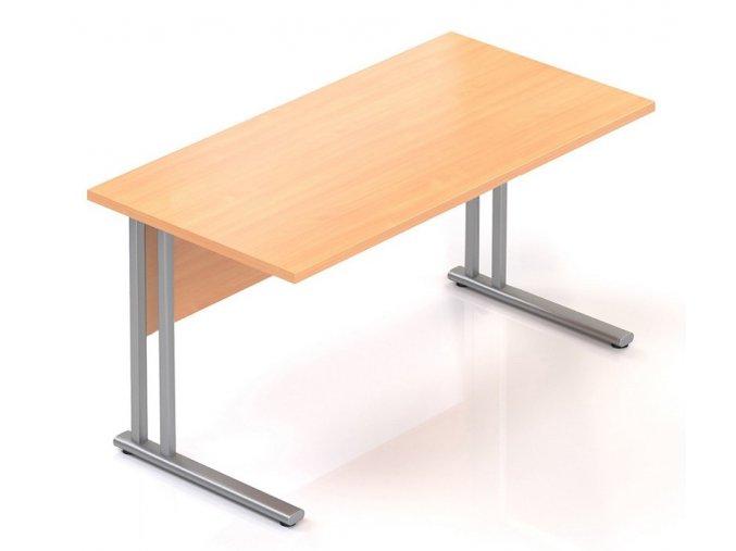 Kancelářský stůl Visio K 140x70 cm  + Prodloužená záruka 5 let ZDARMA