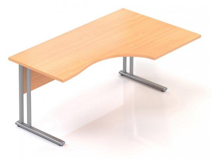 Kancelářský stůl Visio K 160x70/100 cm pravý