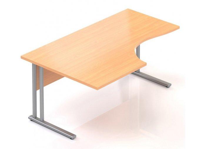 Kancelářský stůl Visio K 160x70/100 cm levý