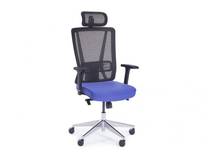 kancelarska zidle Boss modra