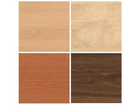 nastavbova skrin ProOffice 40x47x71,7 cm leve dvere