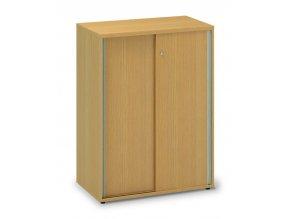 Skříń s posuvnými dveřmi Pro Office 80x45x106,3 cm