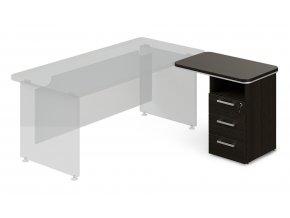 pristavny kontejner TopOffice 90x55 cm pravy