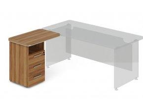 pristavny kontejner TopOffice 90x55 cm levy