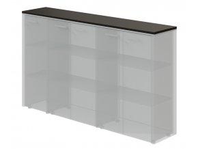 Horní obkladová deska Top Office pro 2x širokou a úzkou skříň