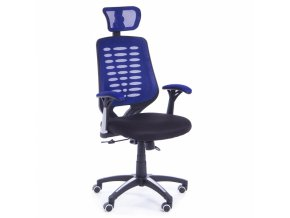 kancelarska zidle Stuart modra