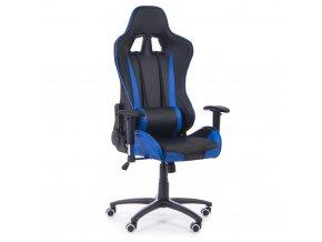 kancelarska zidle Racer modra