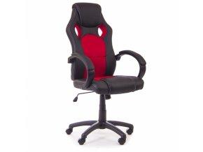 kancelarske kreslo Jersey cervene