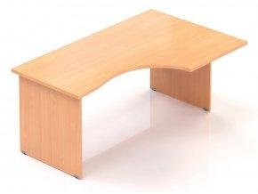 Kancelářský stůl Visio 160x70/100 cm pravý  + Prodloužená záruka 5 let ZDARMA