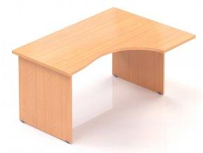 Kancelářský stůl Visio 140x70/100 cm pravý  + Prodloužená záruka 5 let ZDARMA