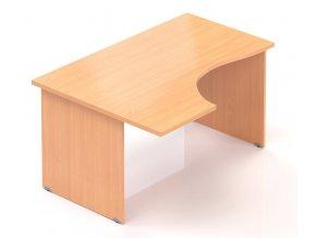 Kancelářský stůl Visio 140x70/100 cm levý  + Prodloužená záruka 5 let ZDARMA