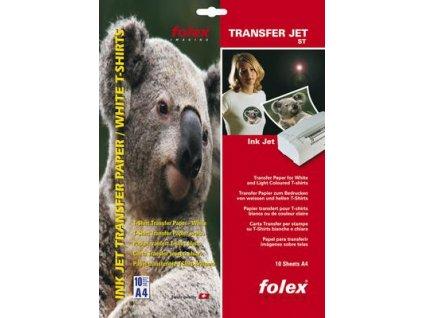 Transfer Jet Black A4 5 listů