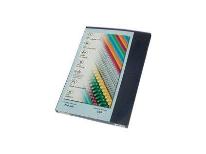 desky pro vazbu čiré 150mic, A4