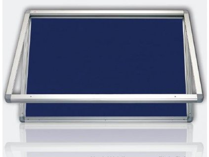 Vitrína venkovní 4xA4/53x70 cm, textilní vnitřek,mod. 1