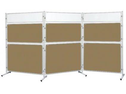Panel 2x3 Modular, 120 x 120 cm, korkový