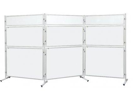 Panel 2x3 Modular, 120 x 60 cm, bílý lakovaný
