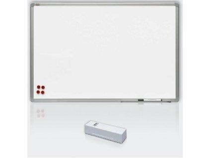 Magnetická tabule Ceramic MATT- keramický matný povrch, hliníkový rám 120 x 180 cm