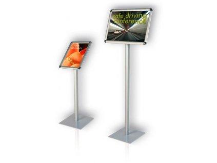 Informační tabule na stojanu, výška 80 cm
