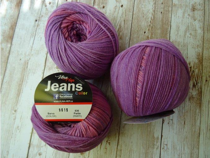 Příze jeans color 1