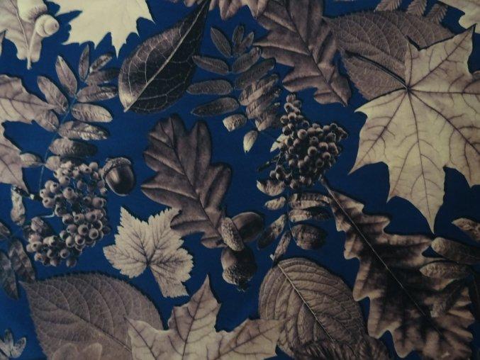 Softshell letní Listí
