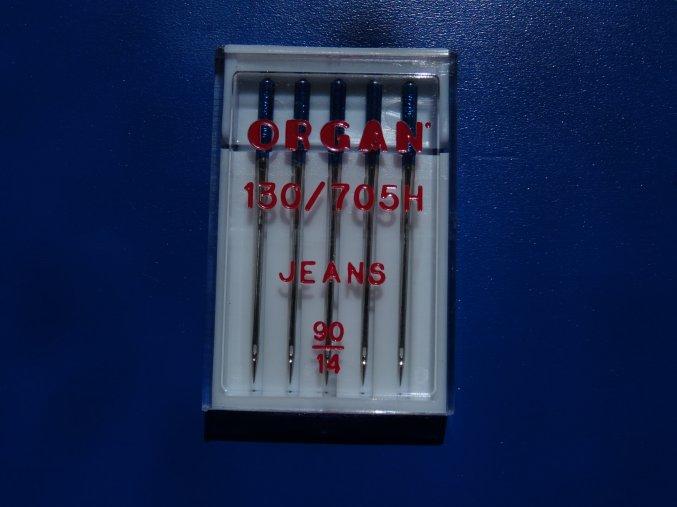 Jehly strojové 705 H JEANS 90 5j