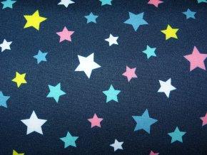 Softshell zimní Hvězdičky