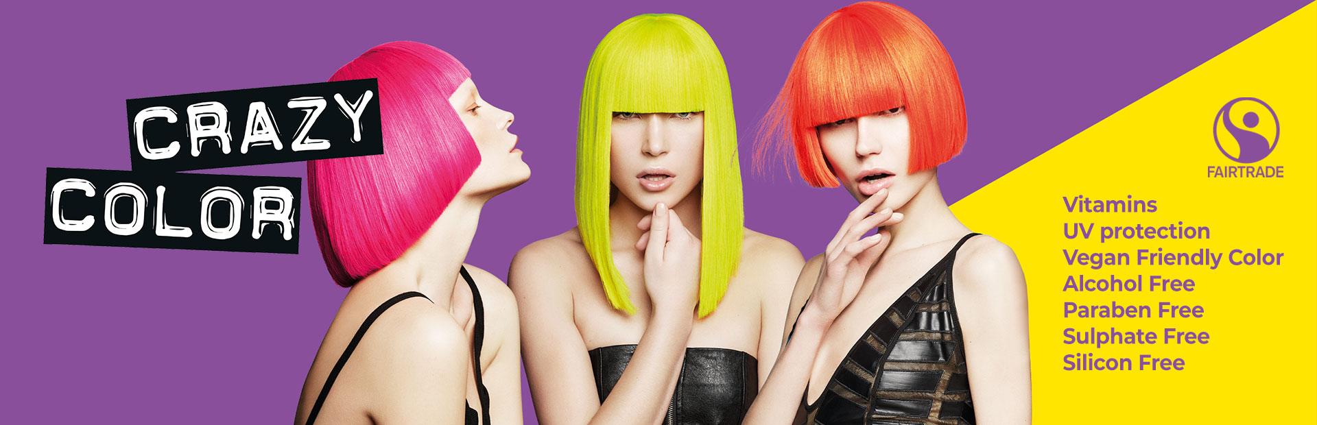 Barvy na vlasy Crazy Color