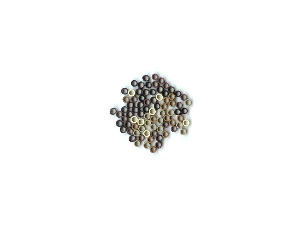 Micro Ring 1000ks 4.0mm protiskluz barvy dle vašeho výběru