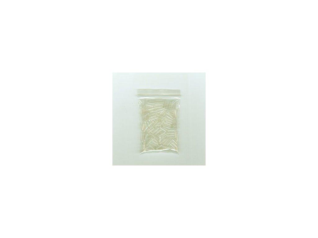Smršťovací trubičky na prodlužování vlasů 100ks, 3mm, průhledné