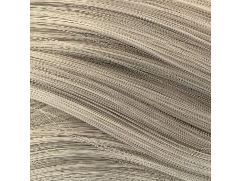 Rovný Mono Braid Kanekalon Stříbrno šedá