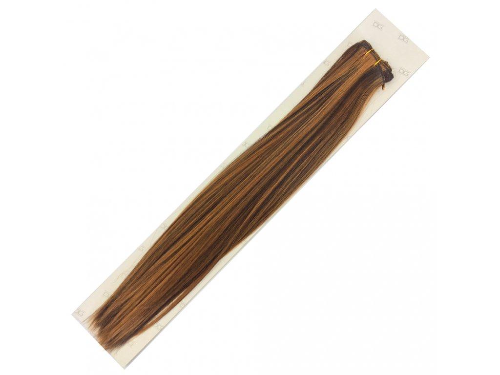 Umělé vlasy 50cm St.hnědá-medová