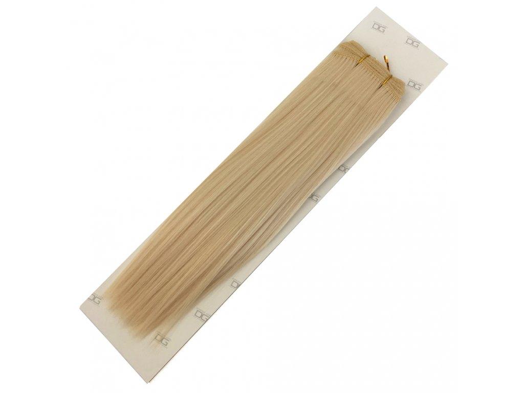 Umělé vlasy 35cm Plavé