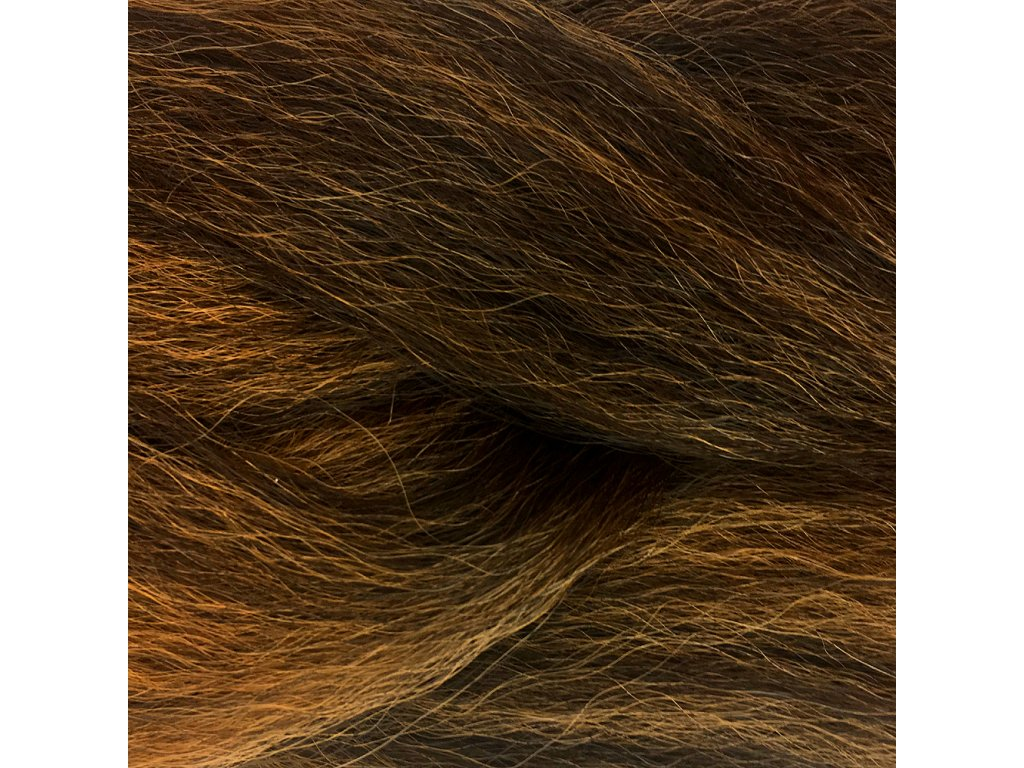 100% Jumbo Braid Kanekalon 4/27 Tmavě hnedá-medová