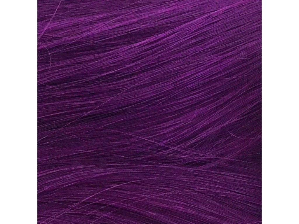 Rovný Mono Braid Kanekalon MB3737 Tm.fialová