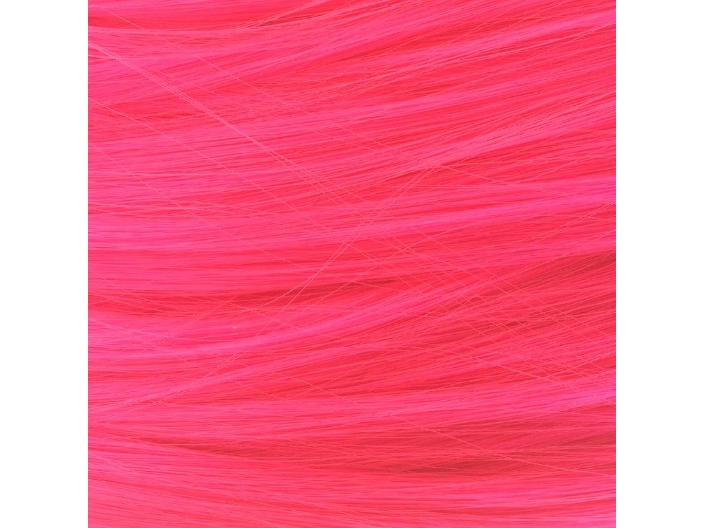 Rovný Mono Braid Kanekalon MB2124 Neon růžová