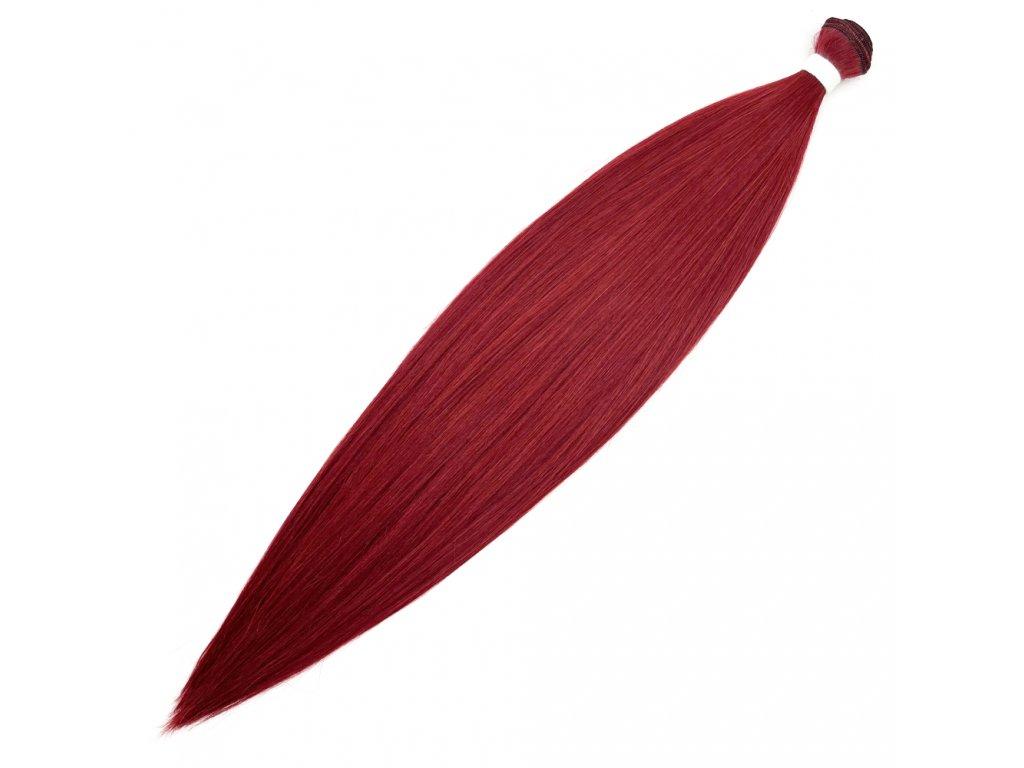Umělé vlasy 45cm Červené Red